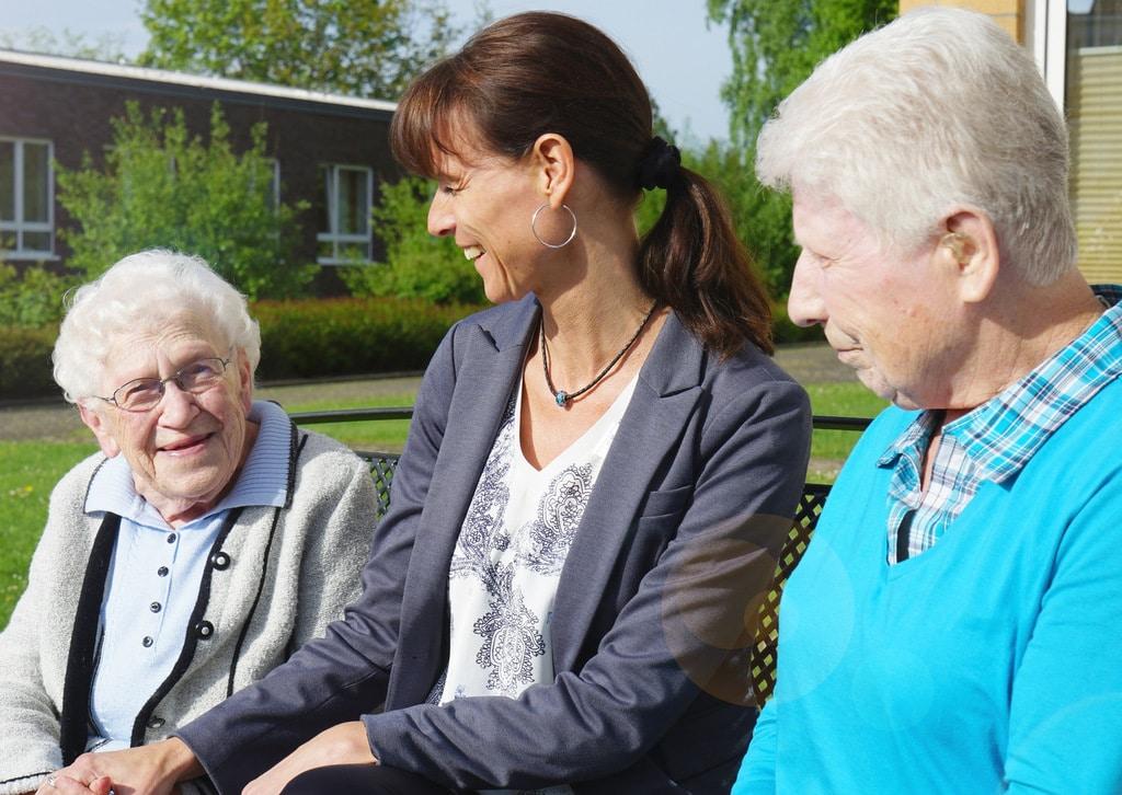 Die neue Einrichtungsleiterin, Sandra Thoms, stellt sich vor