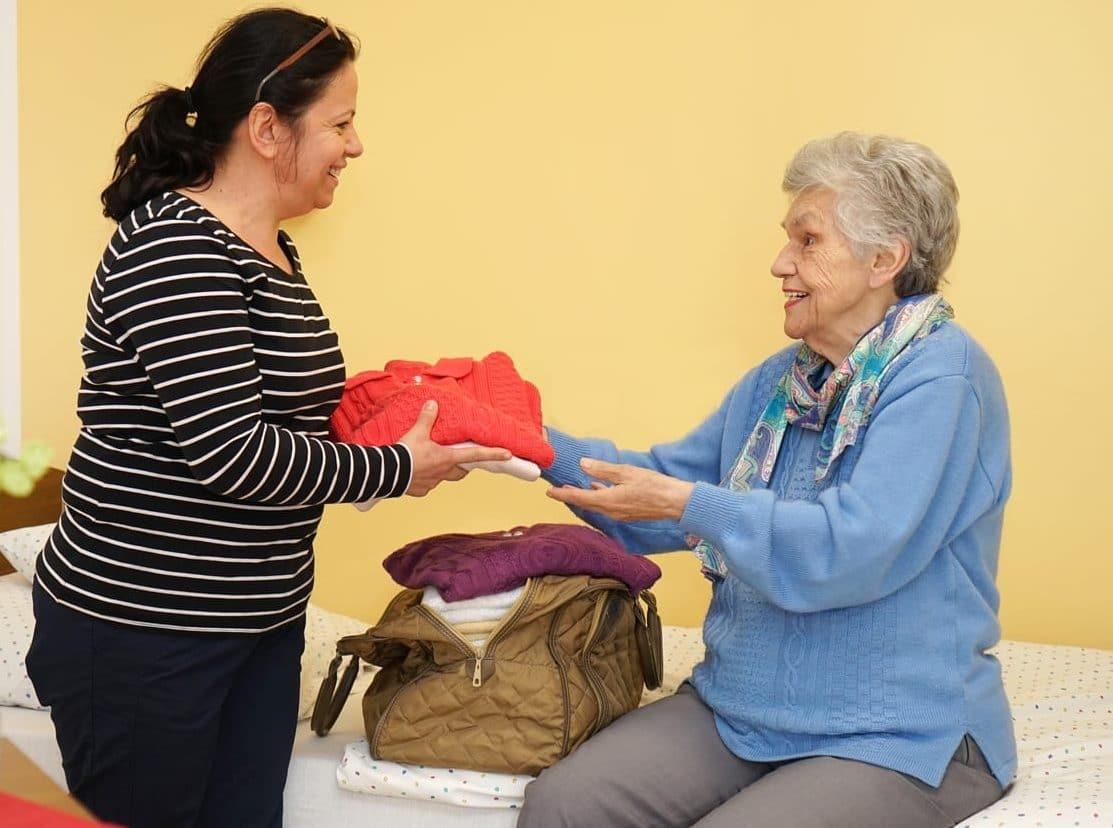 Pflege und Betreuung