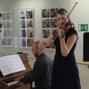 Musikalischer Leckerbissen mit Charlotte Jonen
