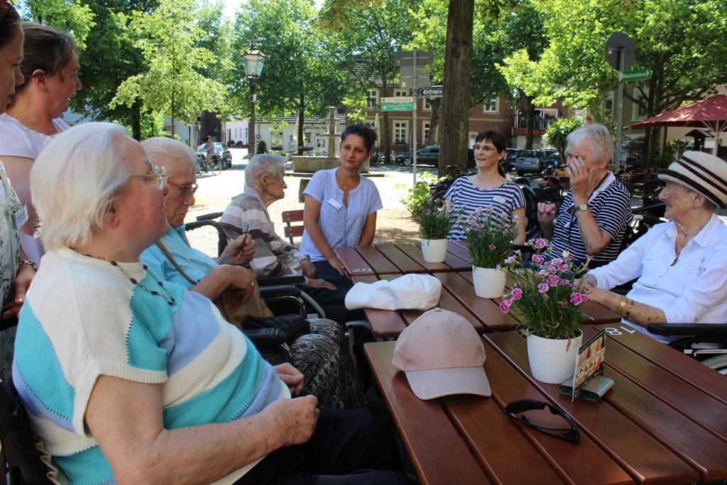 Vergnüglicher Ausflug in das Café am Stiftsplatz