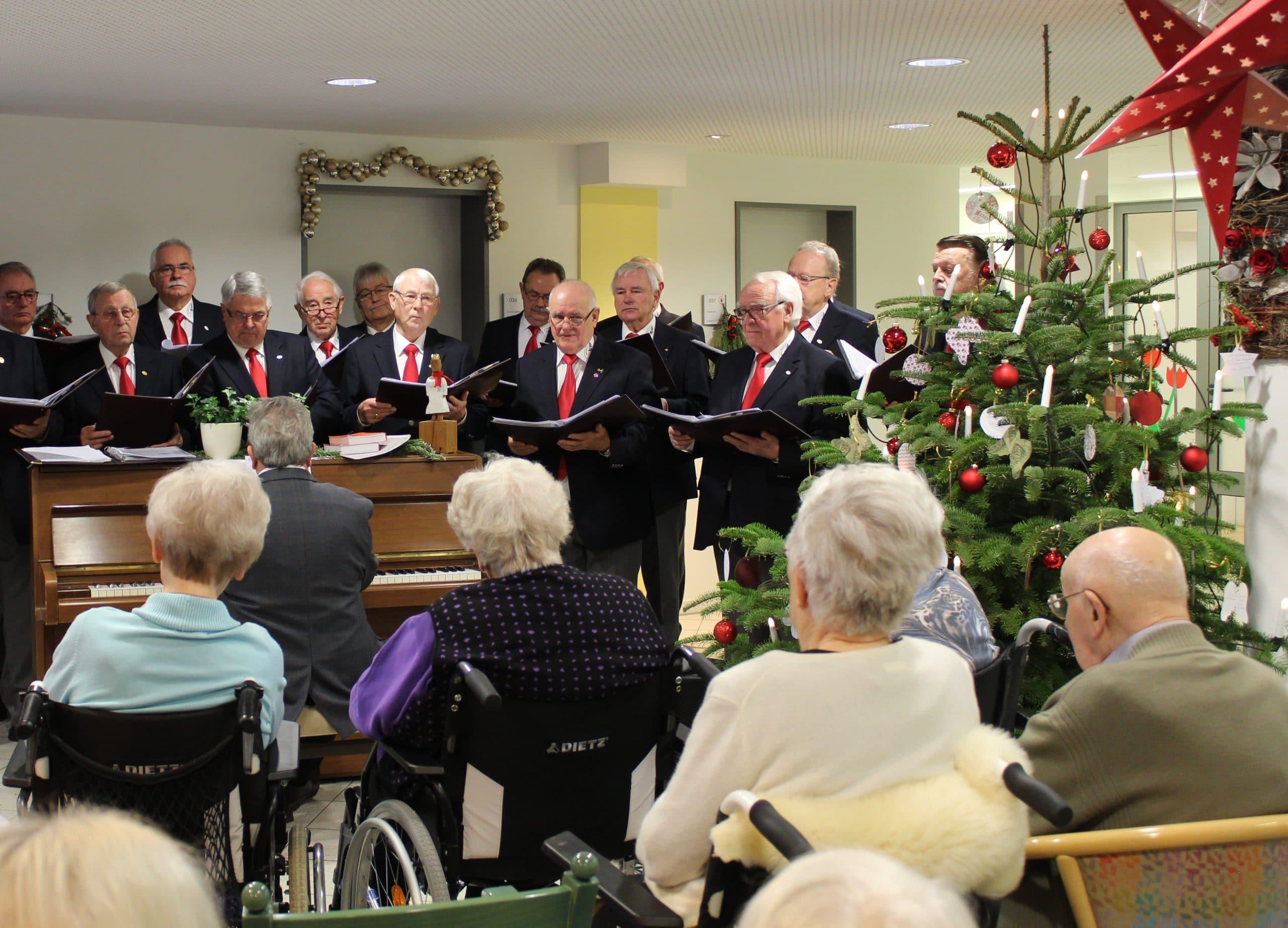 Stimmungsvolles vorweihnachtliches Konzert des MGV Nottuln