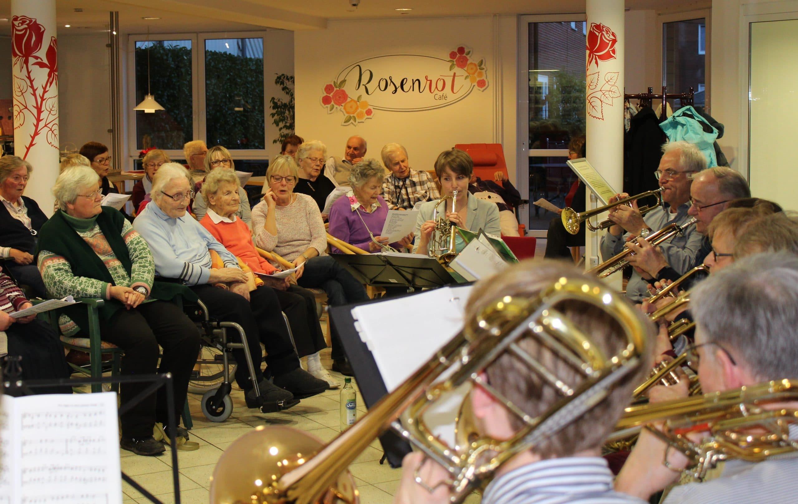 Konzert des Posaunenchores im St.-Elisabeth-Stift