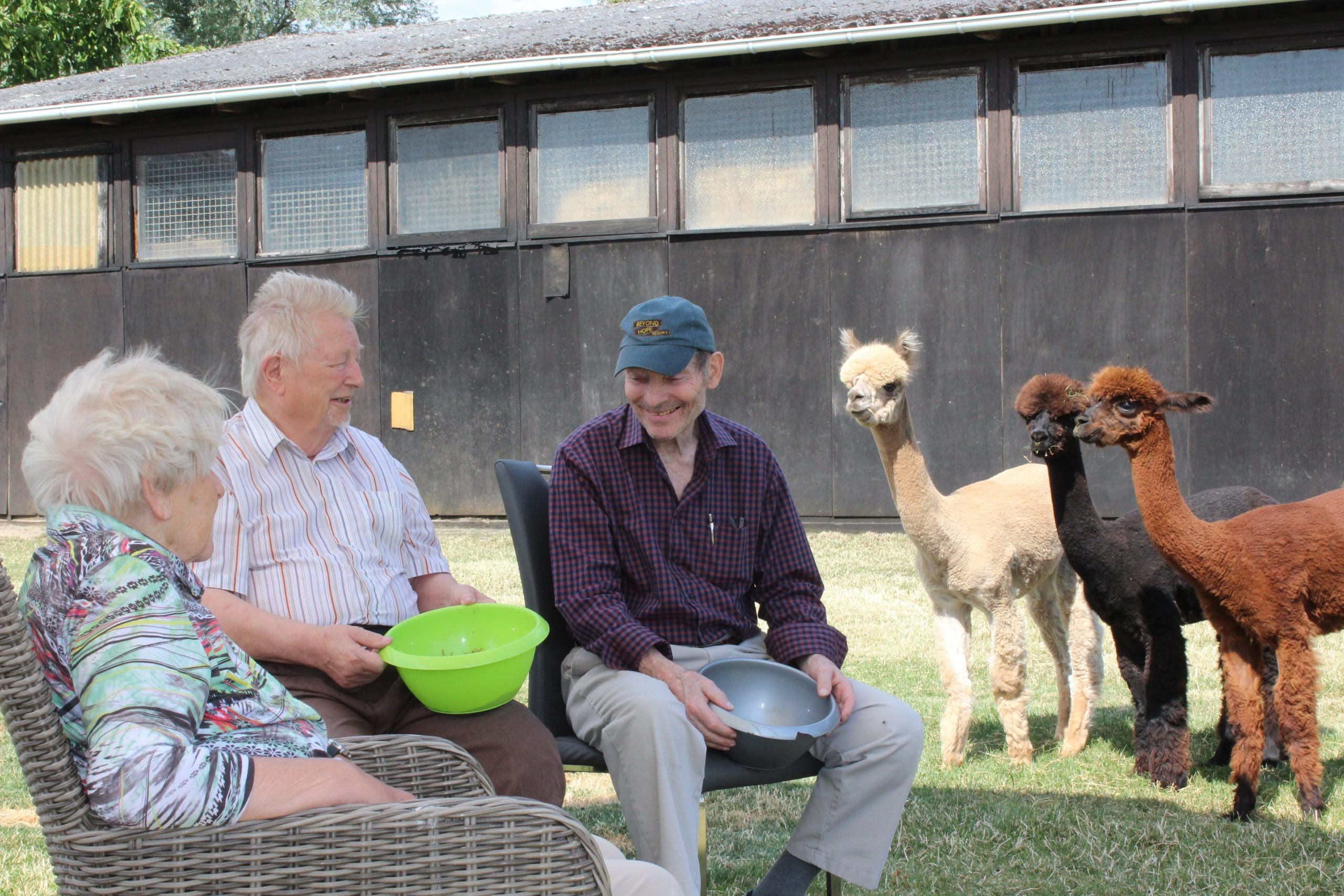 Begegnung von Mensch und Tier: Ausflug auf den Hof Lefert
