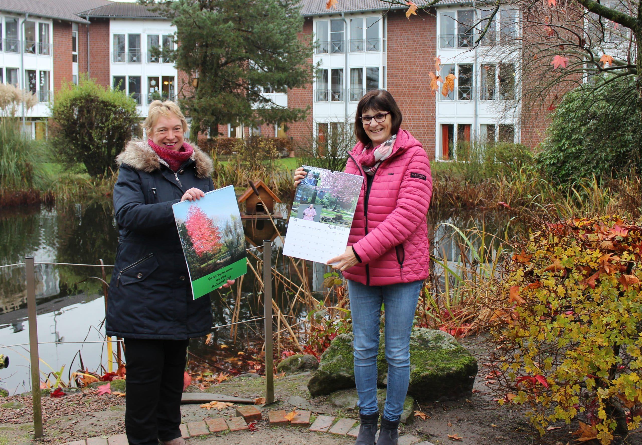"""Neuer Kalender """"Garten-Impressionen aus dem St. Elisabeth-Stift"""""""